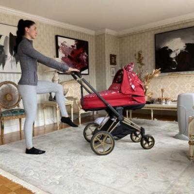 A Calorie-Blasting Stroller Workout For Moms