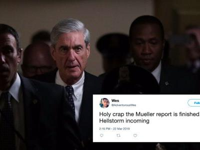 The Tweets About Robert Mueller's Report In The Russia Investigation Are Taking Over