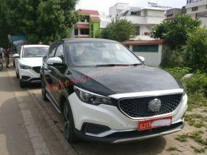MG eZS Spied Undisguised In India Ahead Of Official Debut