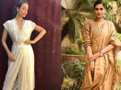 Malaika or Sonam? Who wore the jumper saree better?
