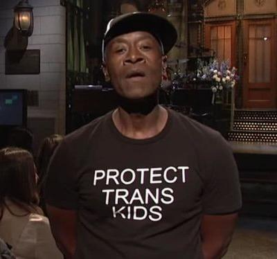 Don Cheadle wore a pro-trans shirt on SNL; Queer Twitter rejoices