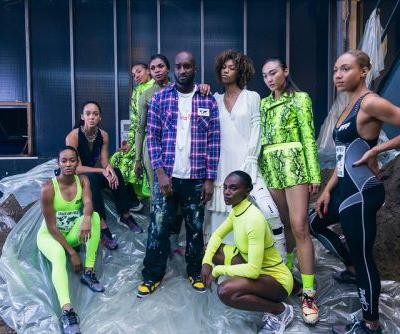 A Backstage Look at Off-White™'s SS19 Show