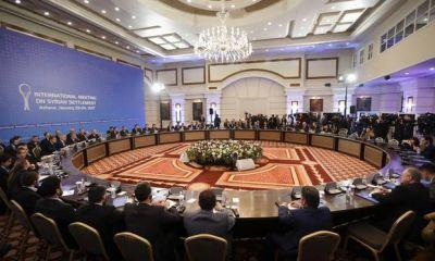 After rocky start, second day of Syria talks in Kazakhstan