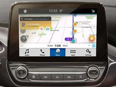 Waze's traffic data is available in Ford Sync 3 cars