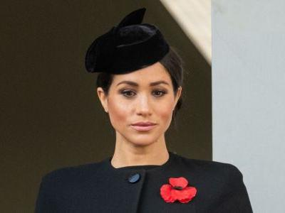 There's A Reason Meghan Markle Didn't Stand With The Queen, Kate, And Camilla At The Remembrance Ceremony