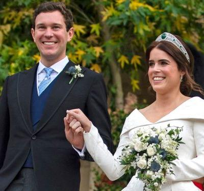 Jack Brooksbank said these heart-melting words when he saw Princess Eugenie walk down the aisle at their wedding, according to a lip reader