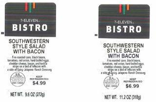 Prime Deli Corp. recalls 7-Eleven salads for risk of Listeria, Salmonella in corn