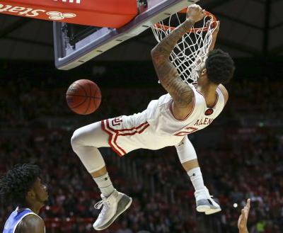 Utah uses 11 first-half threes to claim 92-81 win over visiting UCLA, No. 3 seed