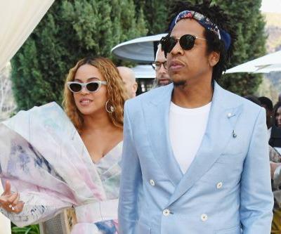 Beyoncé and Jay-Z seen around LA during Grammy weekend