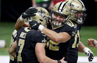 Saints QB Taysom Hill runs for touchdown on fourth and goal in first career start