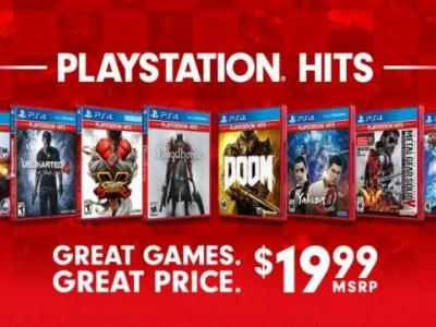 PlayStation Hits is a PS4 Budget Games Lineup