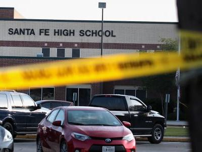 The Santa Fe shooter reportedly had a 15-minute gun battle with police before surrendering