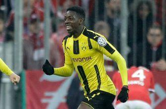 Watch Ousmane Dembele's delicious strike to boot Bayern from the German cup semis