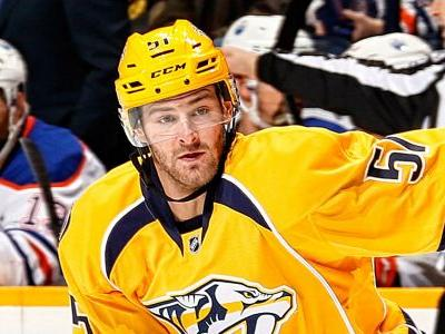 Predators forward Austin Watson suspended 27 games for unacceptable off-ice conduct