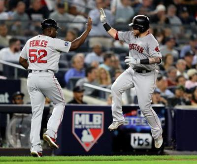Red Sox back up what the regular season showed - they're that much better than the Yankees
