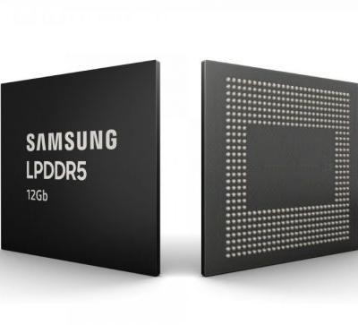 Samsung starts the mass production of 12GB LPDDR5 DRAM chips