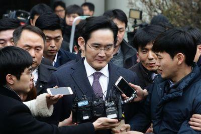 Samsung chief Lee Jae-yong has been arrested on bribery charges