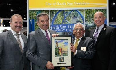 City of South San Francisco Recognizes Contributions to Biotech Industry Growth