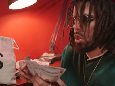 J. Cole Is Sick Of Money Phone Rap And He's Not Going To Take It Anymore