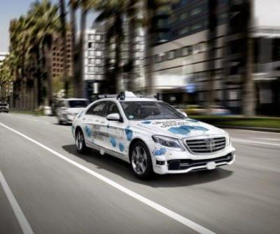 Self-Driving Mercedes S-Class Taxi Service Launches In San Jose Next Year