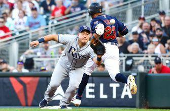 Rays' 3 home runs not enough in second straight loss to Twins