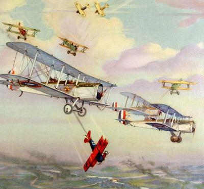 Charles H. Hubbell: Aviation Art from Late 1940s