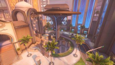 Overwatch's New Oasis Map Features Palm Trees, Killer Cars