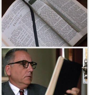 How did the Andy's Bible get into warden's locker?