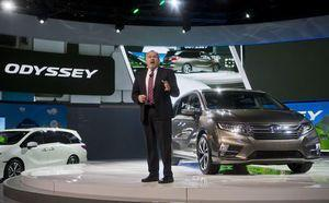 Honda goes higher-tech with Odyssey. Try the intercom