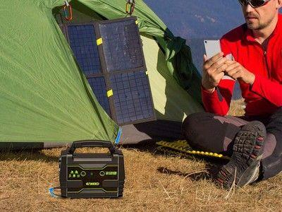 Stay powered up anywhere with Enkeeo's portable power station for $87