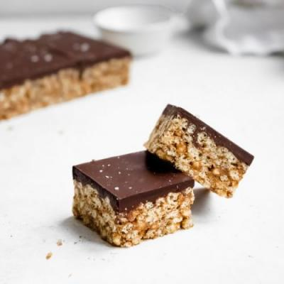 Almond Butter Scotcheroos