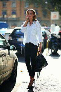 What To Wear with Black Slacks