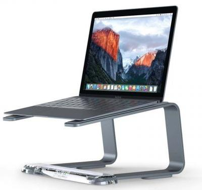 This $47 laptop stand is the best I've ever used - it keeps my computer at the perfect angle and prevents overheating