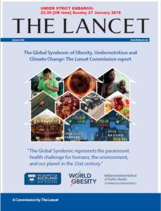 New Lancet report: The Global Syndemic: Uniting Actions to Address Obesity, Undernutrition, and Climate Change