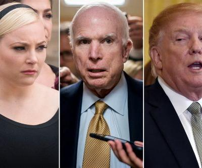 Meghan McCain responds as Trump continues attacks on late father