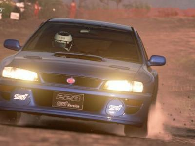 The Subaru Impreza 22B Heads Up GT Sport's Latest Update
