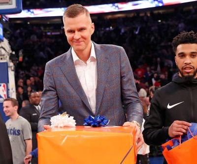Porzingis' depreciating value left Dallas deal as Knicks' top option