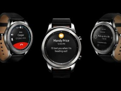 Samsung's Gear S4 smartwatch to ditch S Voice in favor of Bixby