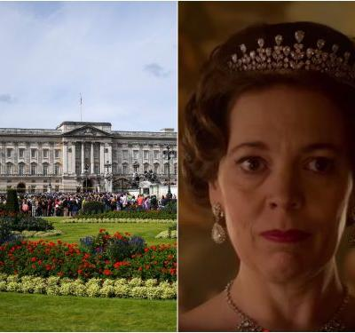 Buckingham Palace has a secret theater for staff movie nights, but they're not allowed to watch 'The Crown'