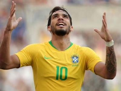 Lucas Paqueta scores first Brazil goal in friendly draw with Panama