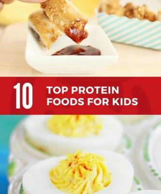 Top 10 Protein for Kids {Plus Crunchy Pecan Chicken Recipe}