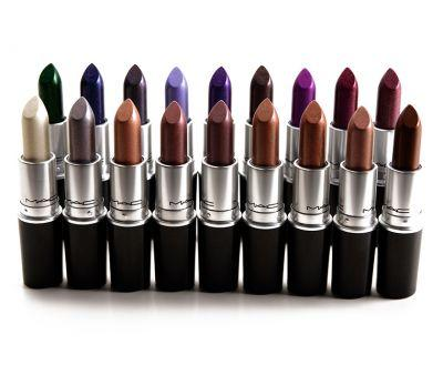 Sneak Peek: MAC MAC Metallic Lips Collection Photos & Swatches
