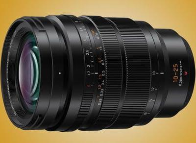 In the zoom-versus-lens speed debate, Panasonic's 10-25mm f/1.7 gives you both