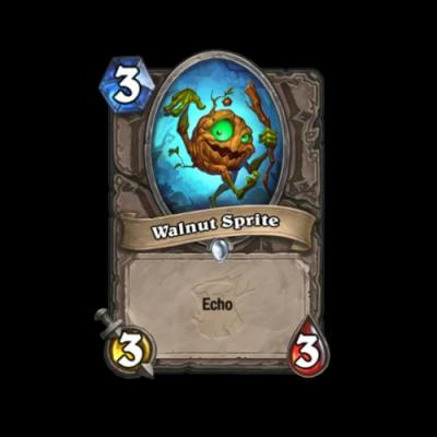Hearthstone's Walnut Sprite helped set The Witchwood expansion's playful, creepy tone