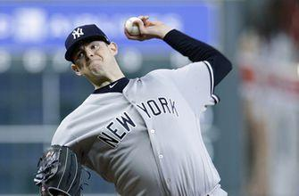Yankees LHP Montgomery could miss 8 weeks with elbow trouble