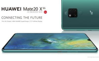Huawei Launches Mate 20 X 5G in the UK: Available in June