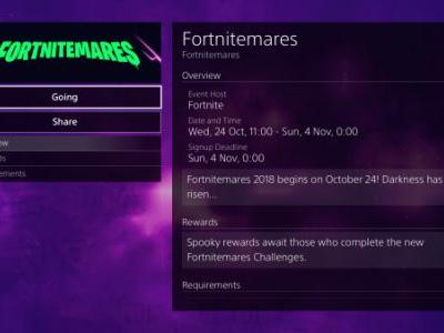 Fortnite: Fortnitemares Halloween event start time revealed