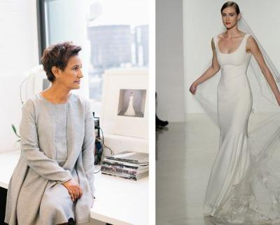 The designer who stripped the frippery and frills from wedding dresses