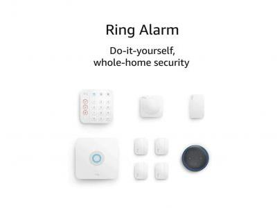 Bundle The 8-Piece Ring Alarm Kit & Echo Dot For $149 - Black Friday Deals 2020
