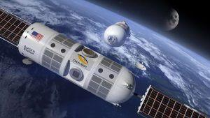 Interiors of the world's first luxury space hotel, Aurora Station, unveiled